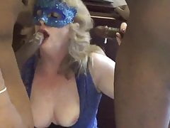 Wife Gets Spitroasted by 2 BBC