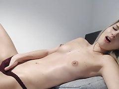 Home Alone - Cute Teen Masturbating Hard
