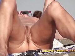 SUper Heated Big Pussy Nudist Beach Milfs Spy Voyeur Cam